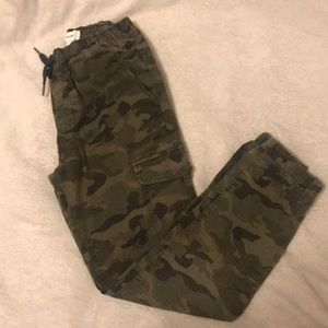 Old Navy Army Fatigue Cargo Jogger Pants